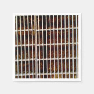 Ground metall Grinder Paper Napkins