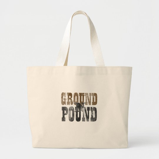 Ground 'n Pound Large Tote Bag