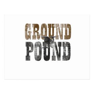 Ground 'n Pound Postcard