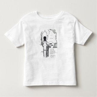 Ground plan of the Vatican, Rome Toddler T-shirt