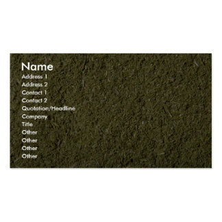 Ground savory Double-Sided standard business cards (Pack of 100)