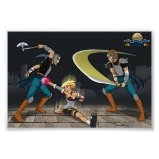 Ground Split - TAOFEWA Manga / Anime battle poster