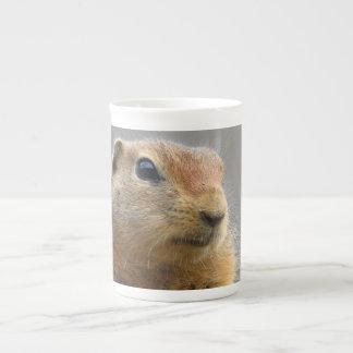 Ground Squirrel Bone China Mugs