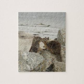 Ground Squirrels in Love Jigsaw Puzzle