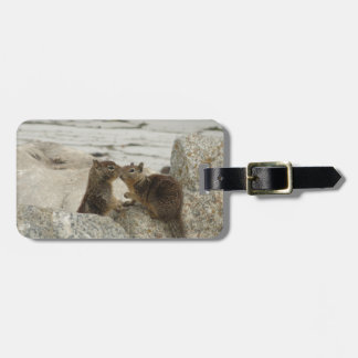 Ground Squirrels in Love Luggage Tag