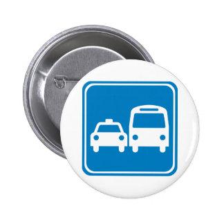 Ground Transportation Highway Sign Pins