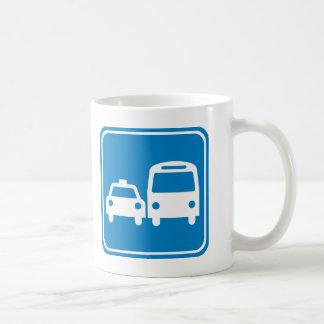 Ground Transportation Highway Sign Coffee Mug