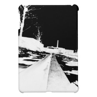 Ground View Of Rail Road Tracks - negative Cover For The iPad Mini
