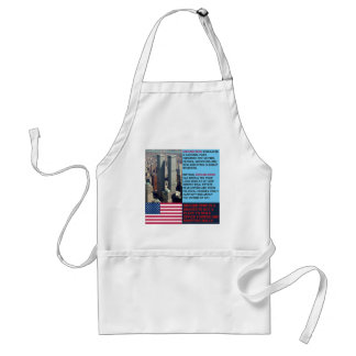 Ground Zero is a Gravesite not a Shopping Mall Adult Apron