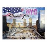 Ground Zero, Manhattan, New York City Postcard