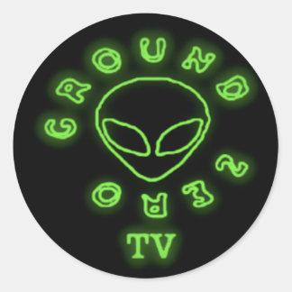 GROUND ZERO TV STICKER
