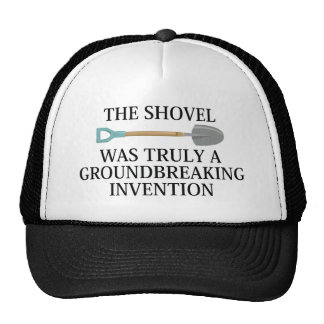 Groundbreaking Invention Trucker Hat