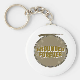 Grounded Forever Keychain