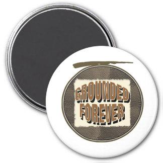 Grounded Forever Magnet