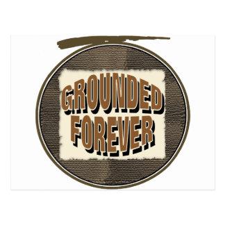 Grounded Forever Postcard
