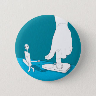 grounded pinback button