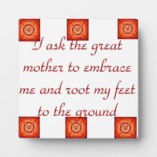 Grounded Roots-Root Chakra Plaque
