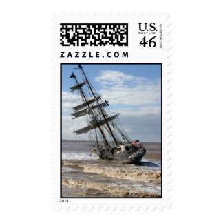 Grounded Ship Stamp