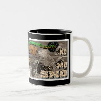 Groundhawg PUNX world tour NO MO SNO Two-Tone Coffee Mug