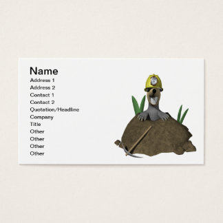 Groundhog Business Card