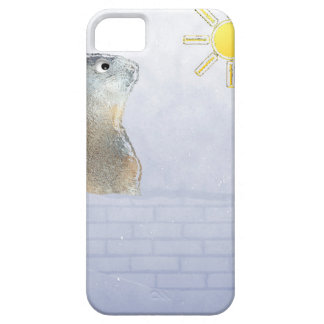 Groundhog congelado iPhone 5 protector
