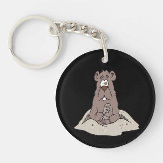 Groundhog Day 5 Keychain