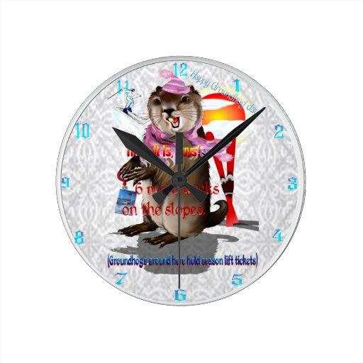 Groundhog Day-6 more weeks wallclock