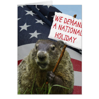 Groundhog Day Card