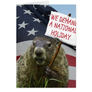 Steamcaster Groundhog Day Card