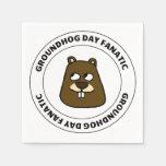 Groundhog Day Fanatic Napkins