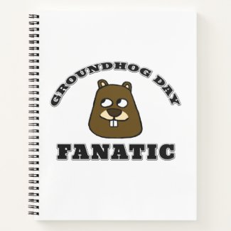 Groundhog Day Fanatic Notebook