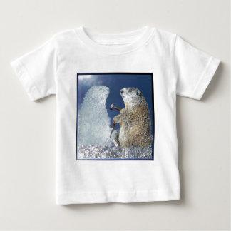 Groundhog Day Ice Sculpture Baby T-Shirt