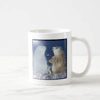 Groundhog Day Ice Sculpture Coffee Mug