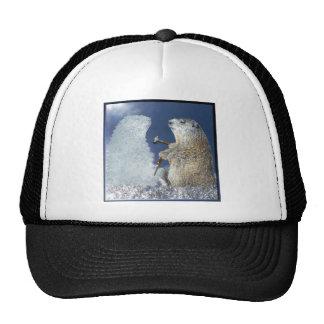 Groundhog Day Ice Sculpture Trucker Hat