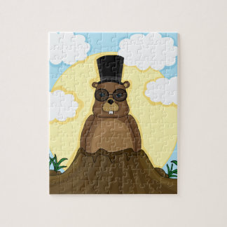 Groundhog day jigsaw puzzle