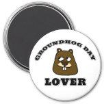 Groundhog Day Lover Magnet