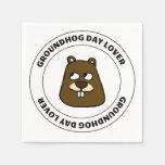Groundhog Day Lover Napkins