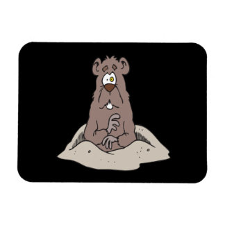 Groundhog Day Magnet