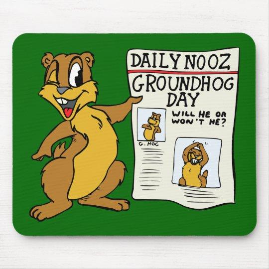 """""""Groundhog Day News"""" MousePad"""