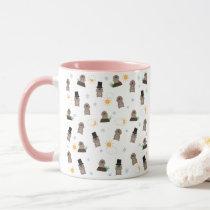 Groundhog Day Pattern Mug