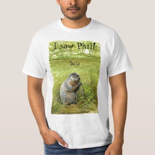Groundhog Day Phil T-shirt