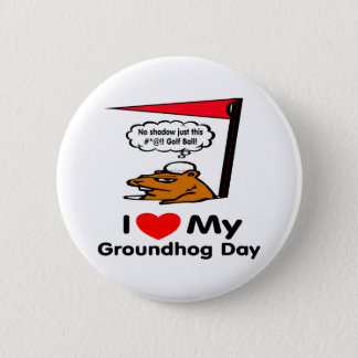 Groundhog Day Pinback Button