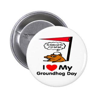 Groundhog Day Pinback Button