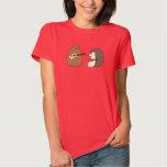 Groundhog, erizo, camiseta de los Ukuleles Playeras