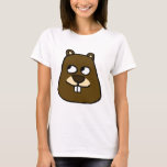 Groundhog Face T-Shirt
