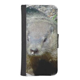 Groundhog Fundas Cartera Para Teléfono