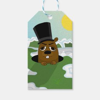 Groundhog Gift Tags