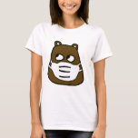 Groundhog in Face Mask T-Shirt