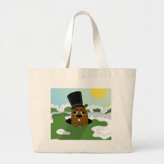 Groundhog Large Tote Bag