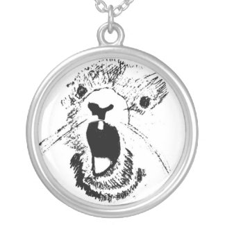 Groundhog Necklace